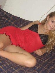 Страстная блондинка - 16 картинка