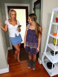 Строгая госпожа и её домохозяйка - 3 картинка