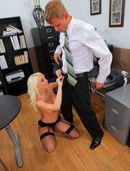 Горячая секретарша договорилась с налоговиком - 11 картинка