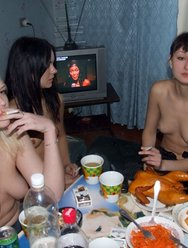Секс по пьяни на тусовке - 5 картинка
